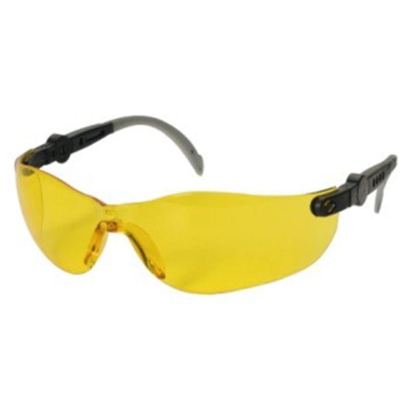 Sikkerhedsbrille med gul linse, THOR