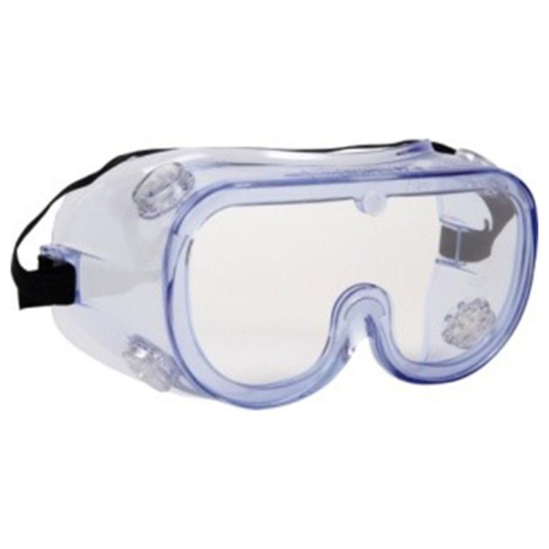 Sikkerhedsbrille, lukket, med ventil, THOR