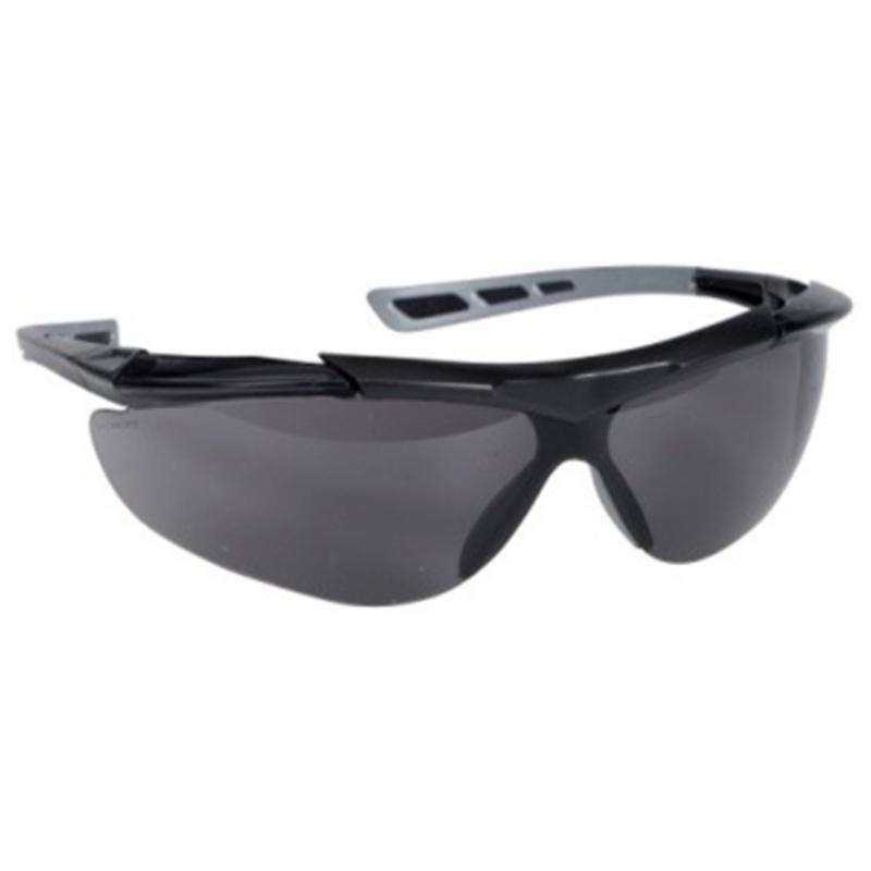 Sikkerhedsbrille, mørk linse, UV, THOR