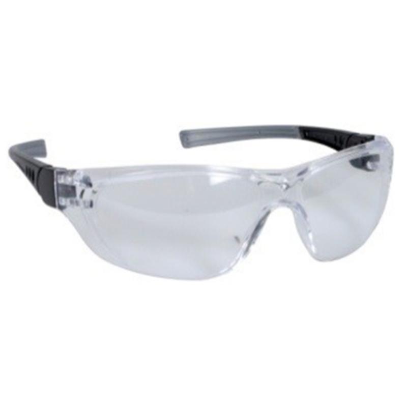 Sikkerhedsbrille, med klar linse, ridsefast, THOR