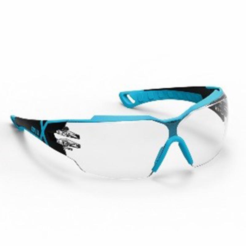 Sikkerhedsbrille, klar linse, antidug og ridsefast, UVEX
