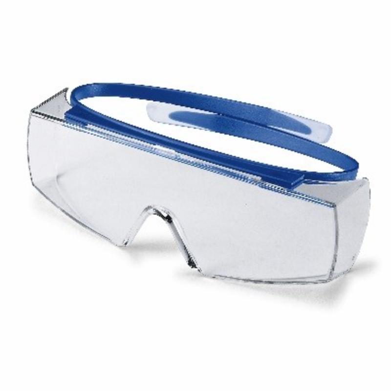 Sikkerhedsbrille, ovenpå egne briller, UVEX